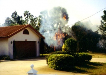 fire near house