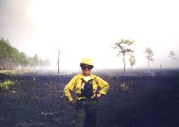 burnt field